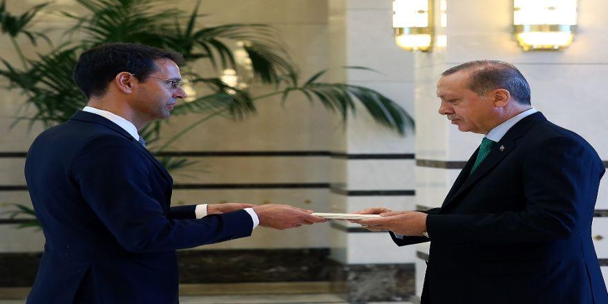 İsviçre Büyükelçisi'nden Cumhurbaşkanı Erdoğan'a Güven Mektubu