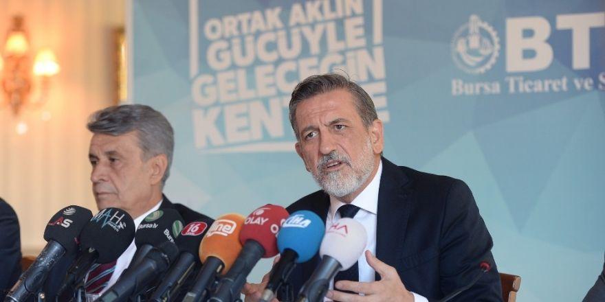 Bursa Türkiye Ekonomisinin Öncü Gücü Olmaya Devam Ediyor