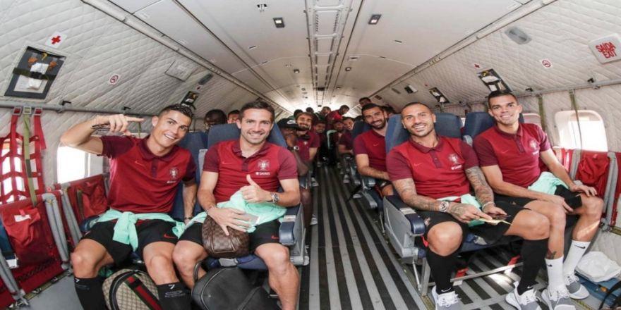 Portekiz Deplasman Maçına Askeri Uçakla Gitti
