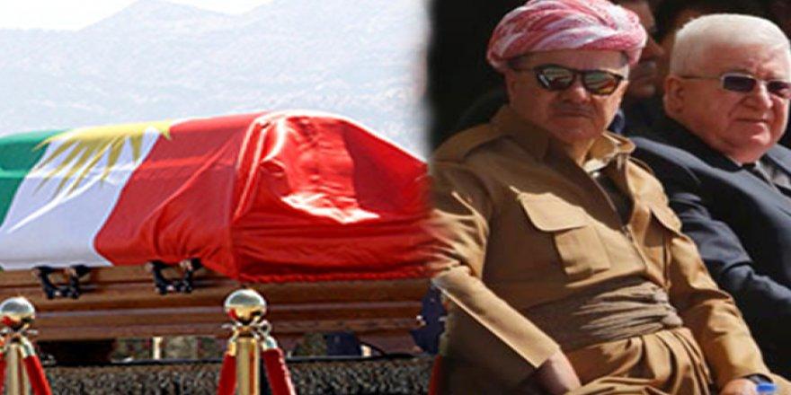 Krizin Yaşandığı Cenaze Töreninin Sonunda Talabani Toprağa Verildi