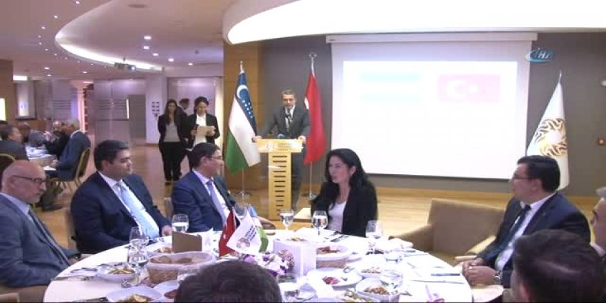 Türkiye İle Özbekistan Arasındaki Ticaret Hacmini Yükseltici Adımlar Atılacak