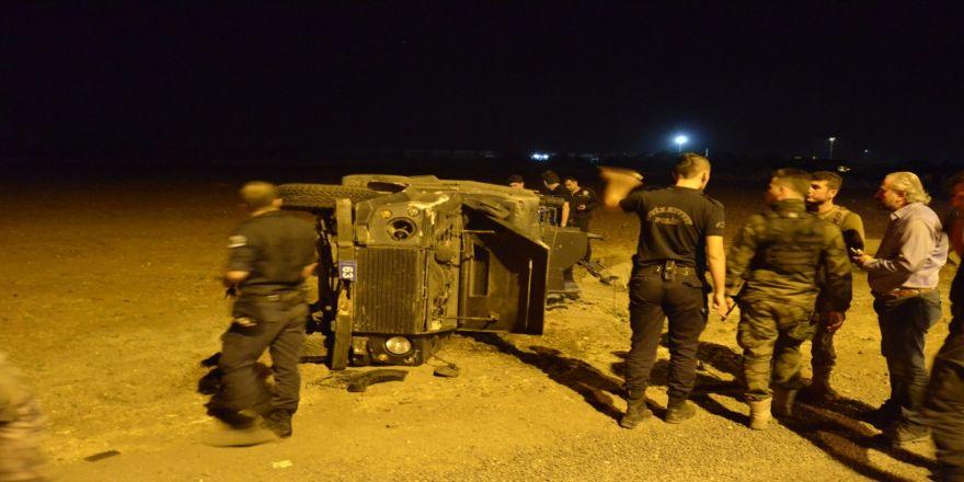 Zırhlı Araç Takla Attı: 2 Polis Yaralı