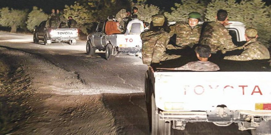 ÖSO birlikleri, Azez ve Cinderes'ten Afrin'e ilerliyor
