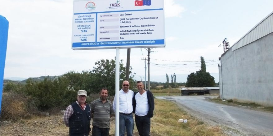 Burhaniye'de Devlet Desteği İle Zeytinyağı Fabrikaları Yenileniyor