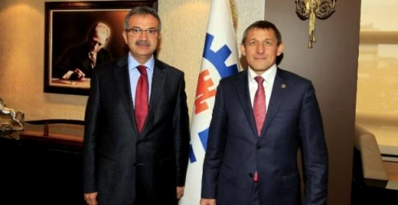 Başkan Köşker'e Tataristan'dan konuklar