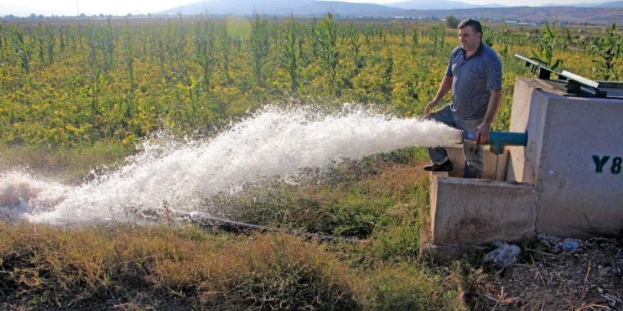 Suya Kavuşan Çiftçinin Kazancı Arttı