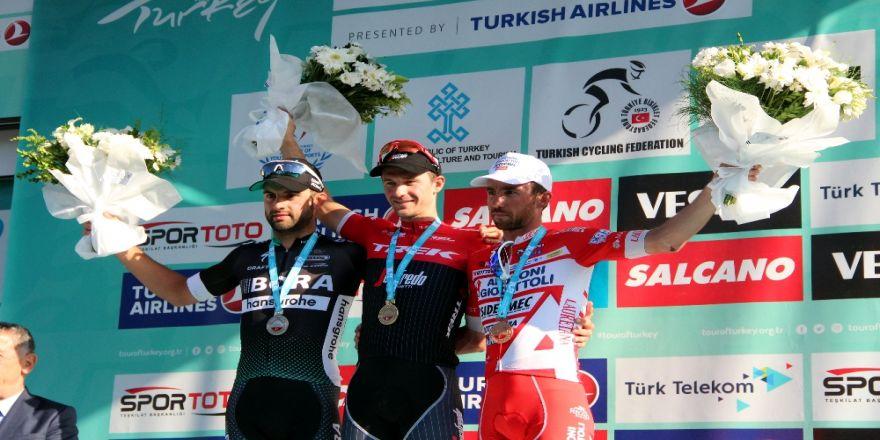 Cumhurbaşkanlığı Türkiye Bisiklet Turunu Diego Ulissi Kazandı