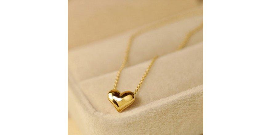 En Değerli ve Romantik Hediye Altın Kolye
