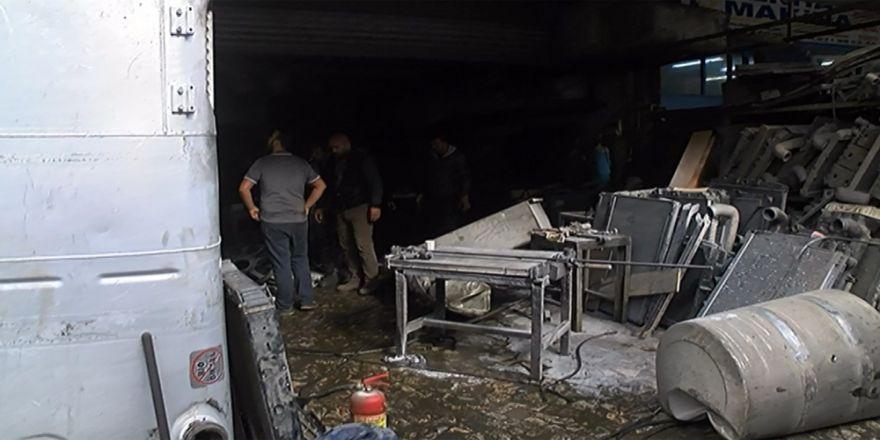 Tamiri Yapılan Mazot Tankı Patladı: 4 Yaralı
