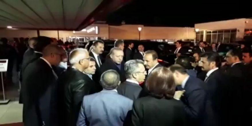 Cumhurbaşkanı Erdoğan, Baykal'ı Hastanede Ziyaret Etti