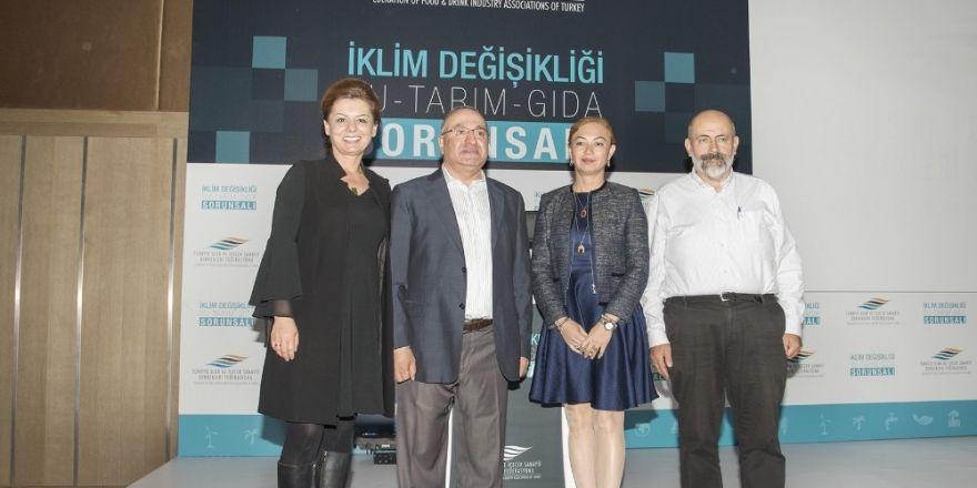 'Türkiye'de İklim Değişikliği Ve Tarımda Sürdürülebilirlik' Raporu Açıklandı