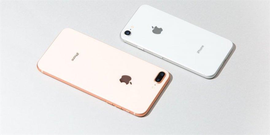 iPhone 8'in bataryası patladı