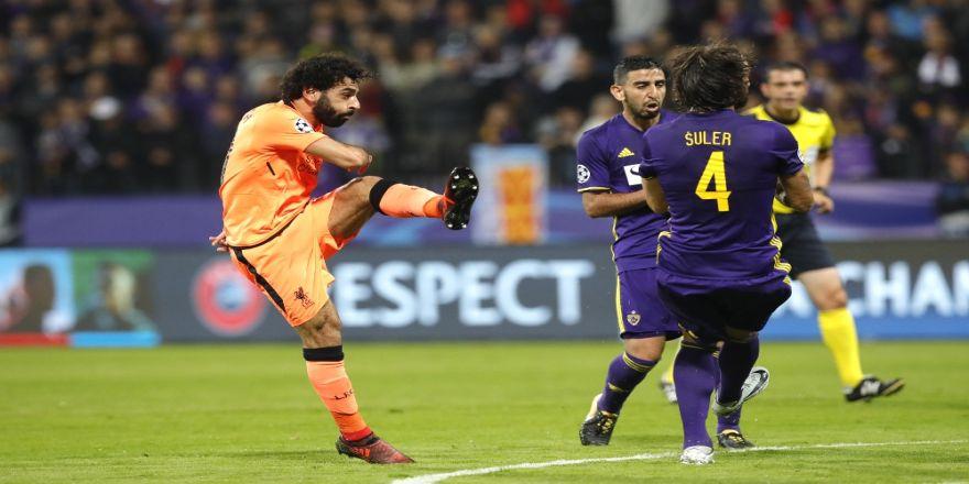 Şampiyonlar Ligi'nde Haftanın Futbolcusu: 'Muhammed Salah'
