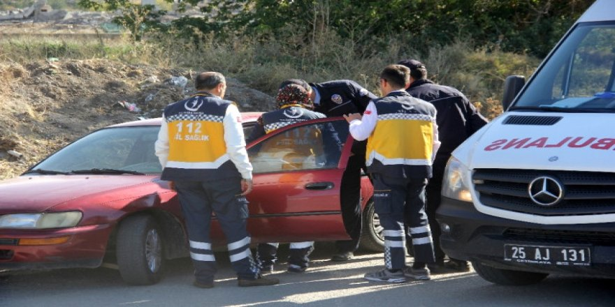 İhbara gelen polis, şoförü görünce şaştı kaldı