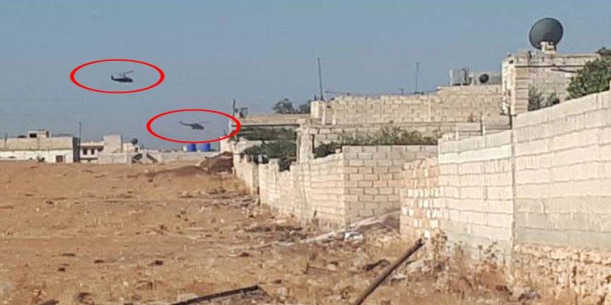 Türk ve Rus askerlerinden, Halep çevresine çıkarma!