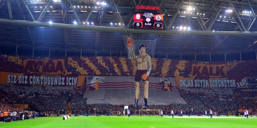 Türk Telekom Stadyumu'nda 50 Bin 291 Taraftar