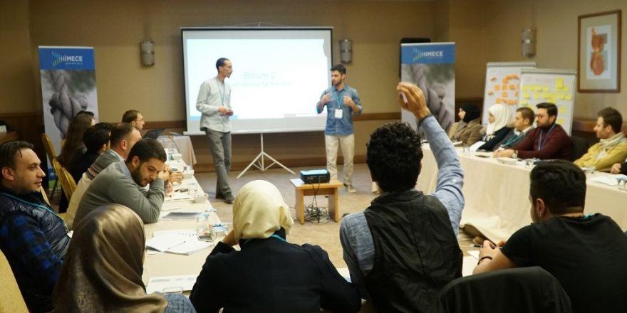 Suriyelilere İş Fikri Oluşturma Eğitimi