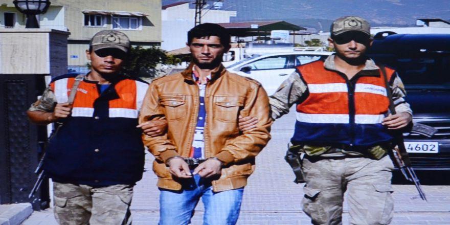 Türkiye'ye Girmeye Çalışan Terörist Sınırda Yakalandı