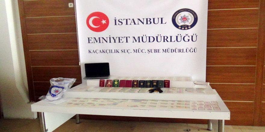 'Sahte Vize' Şebekesine Operasyon: 4 Gözaltı