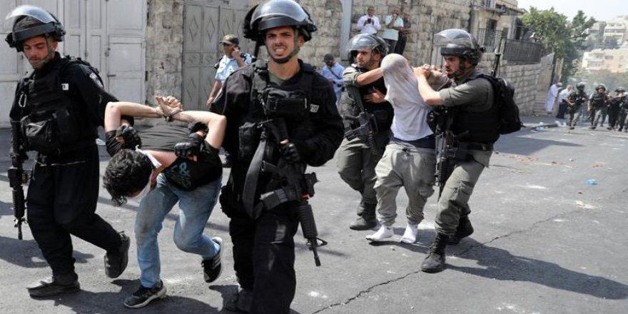 Doğu Kudüs'te 51 Filistinli gözaltına alındı