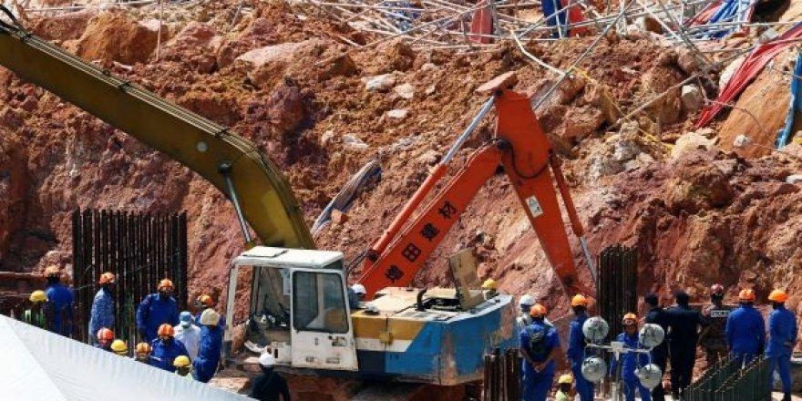 Malezya'daki toprak kayması