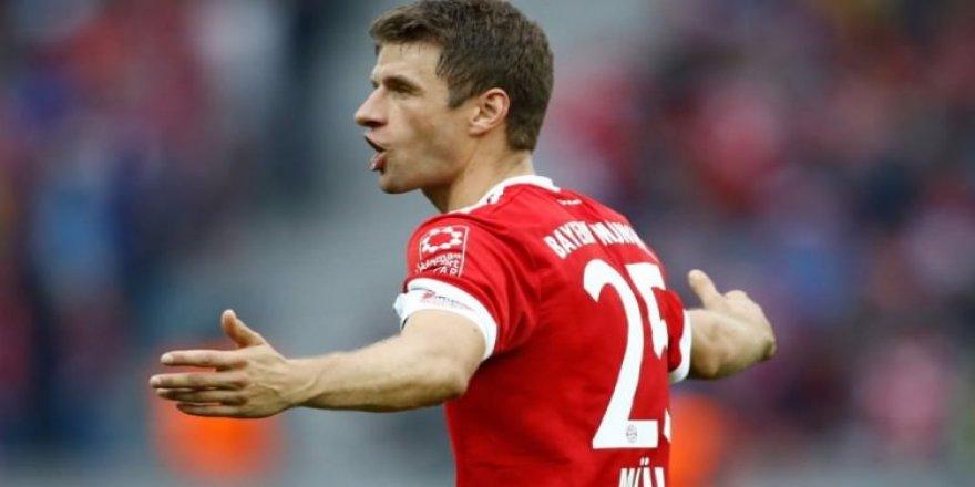 Müller'den Bayern'e kötü haber