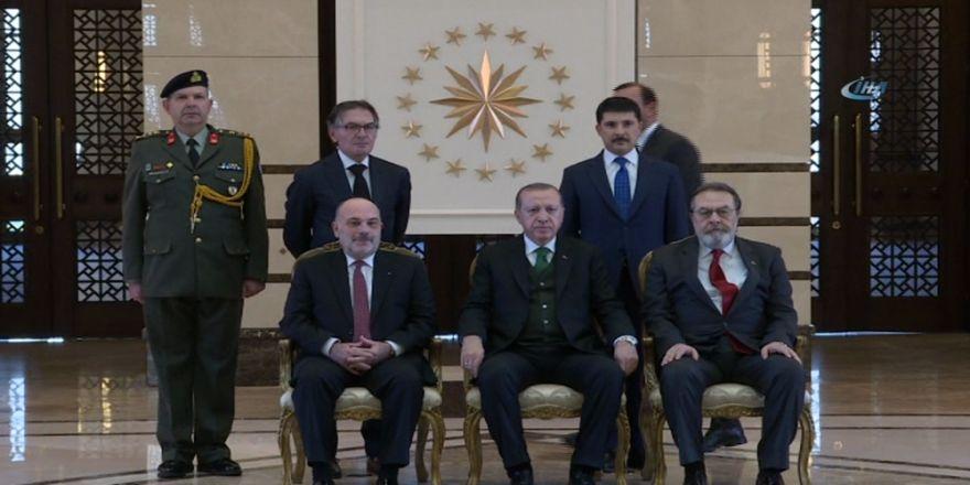 Cumhurbaşkanı Yunanistan Büyükelçisini Kabul Etti