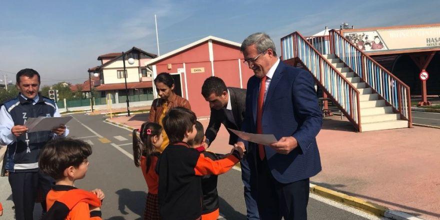 Akyazı Belediyesi Trafik Parkta Yeni Eğitim Sezonu Başladı