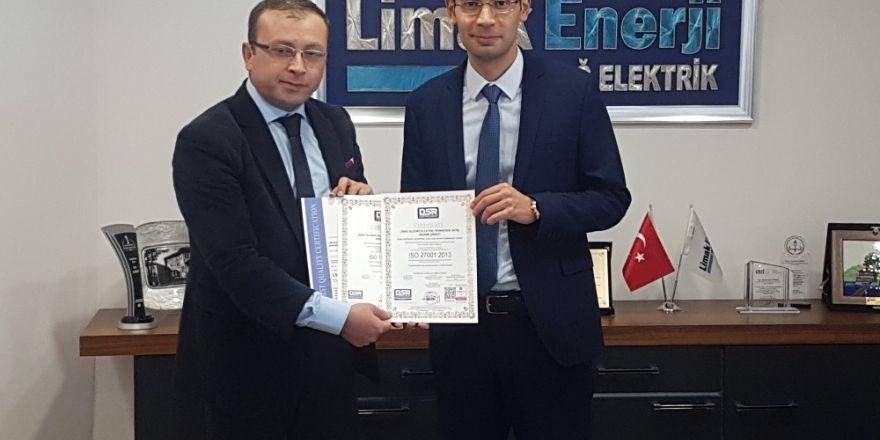 """Limak Uludağ Elektrik """"Yeni Nesil Iso 9001:2015'i Alan İlk Elektrik Şirketi Oldu"""
