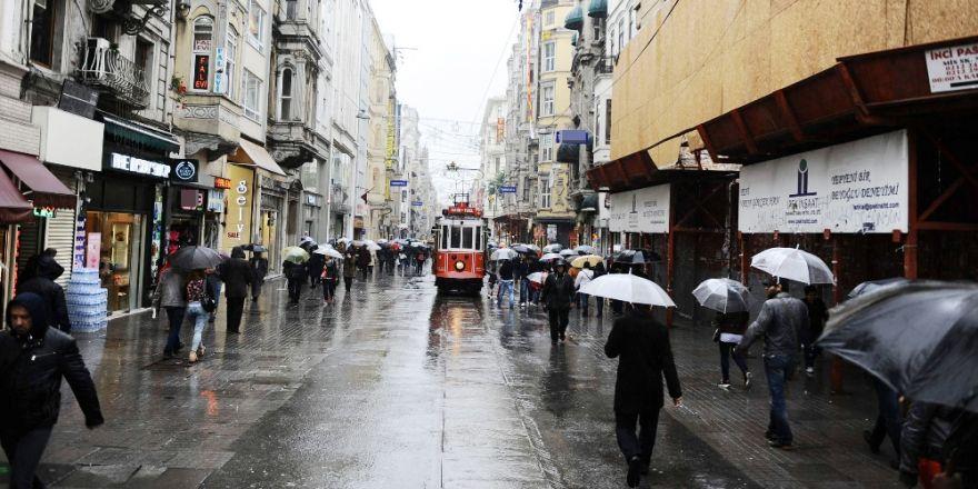 İstanbul'a Yağış Ve Rüzgar Uyarısı
