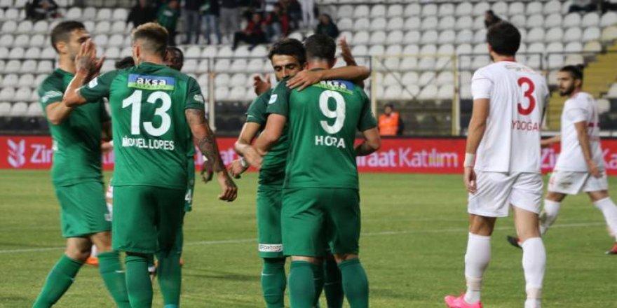 Akhisarspor'dan gol şov: 6-0