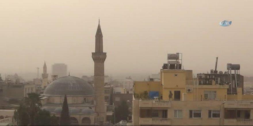 Kum Ve Toz Fırtınası Kilis'te Etkili Oldu