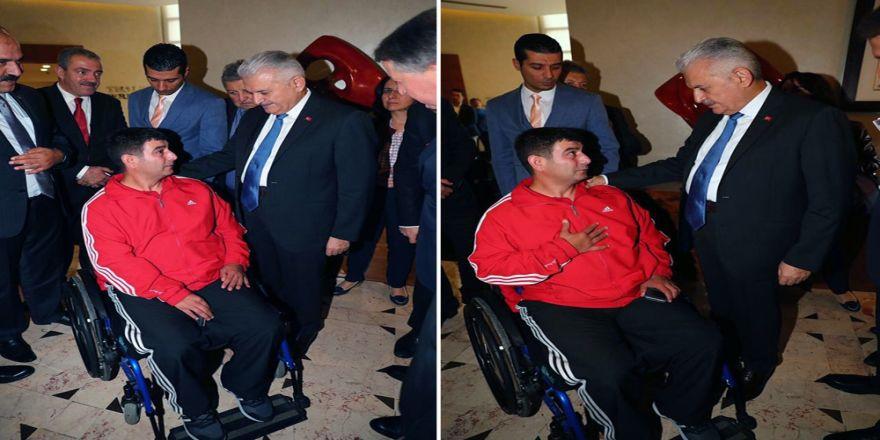 Bilen'e Başbakan Yıldırımdan Geçmiş Olsun Ziyareti