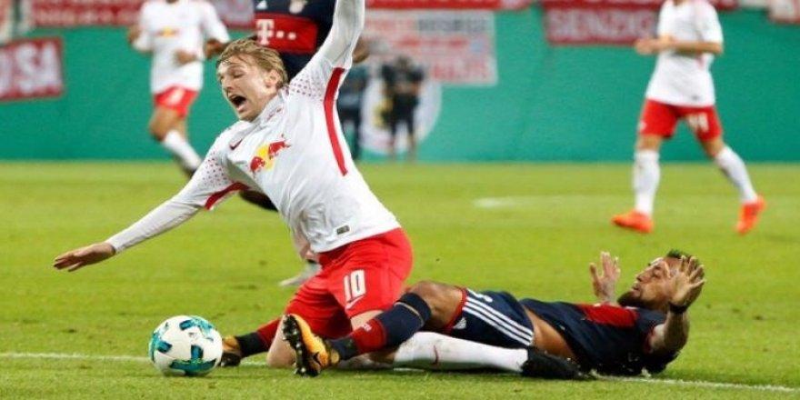Leipzig, penaltılarda yıkıldı