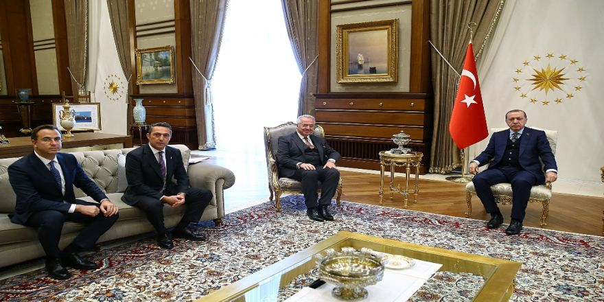 Erdoğan, Tüsiad Heyetini Kabul Etti