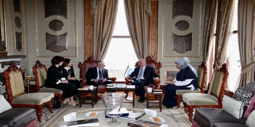Kurtulmuş, Özbekistan Cumhurbaşkanı'nı Topkapı Sarayı'nda Ağırladı