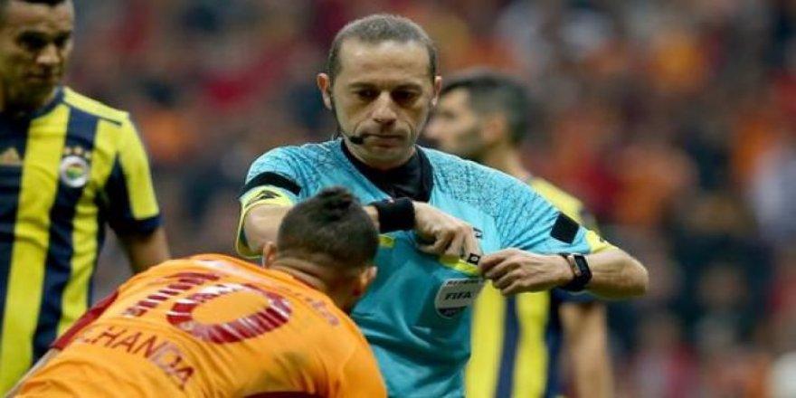 Lucescu'dan olay Cüneyt Çakır açıklaması