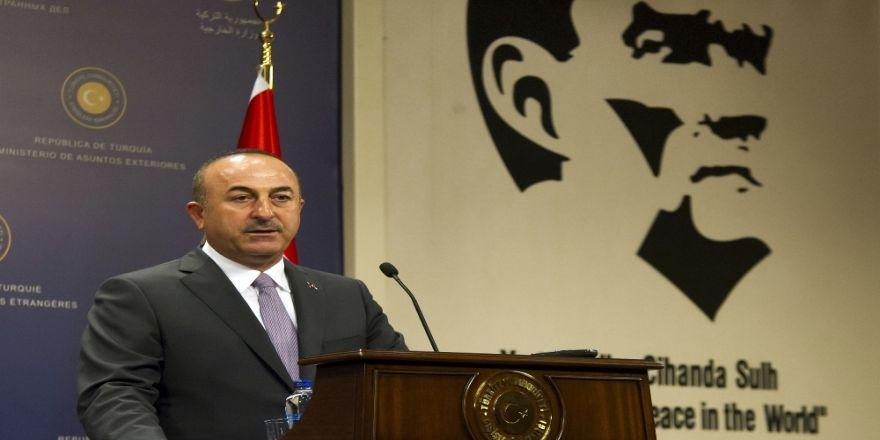 Çavuşoğlu, İranlı Ve Alman Mevkidaşlarıyla Görüştü