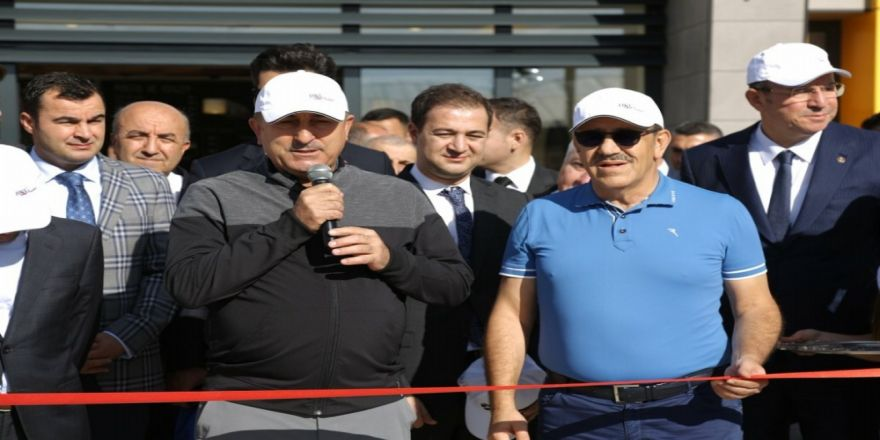 Güneydoğu'daki İlk Golf Sahasını Dışişleri Bakanı Çavuşoğlu Açtı