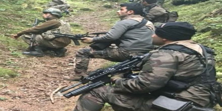 Teröristler Doğu Karadeniz'de Sıkıştı