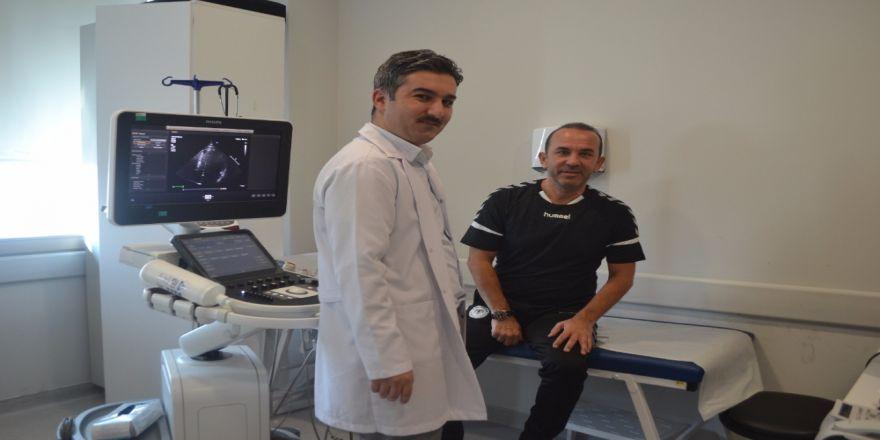Mehmet Özdilek, Sağlık Kontrolünden Geçti