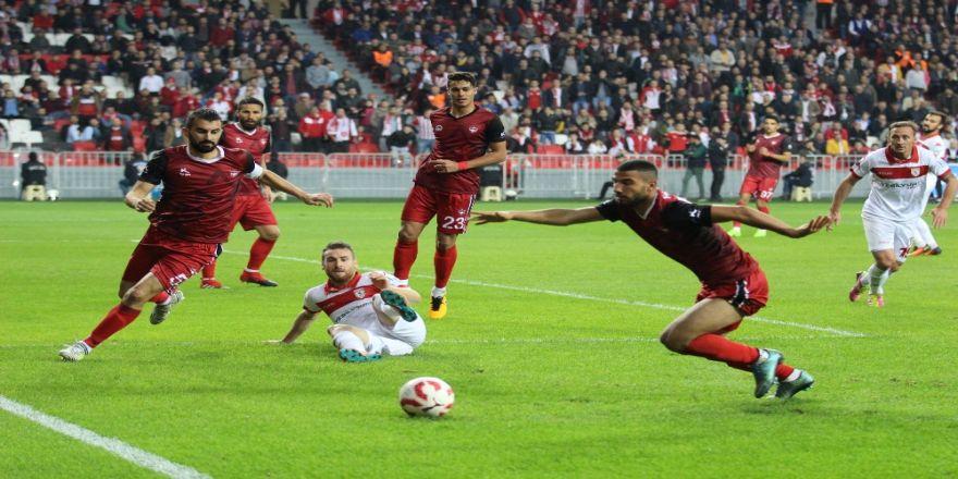 Samsunspor Gaziantepsor'u 3-0 Yendi