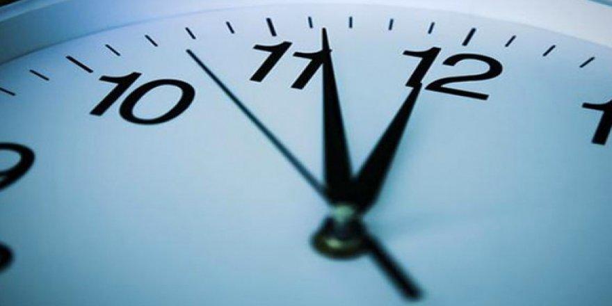 Yaz saati uygulamasıyla ilgili flaş gelişme