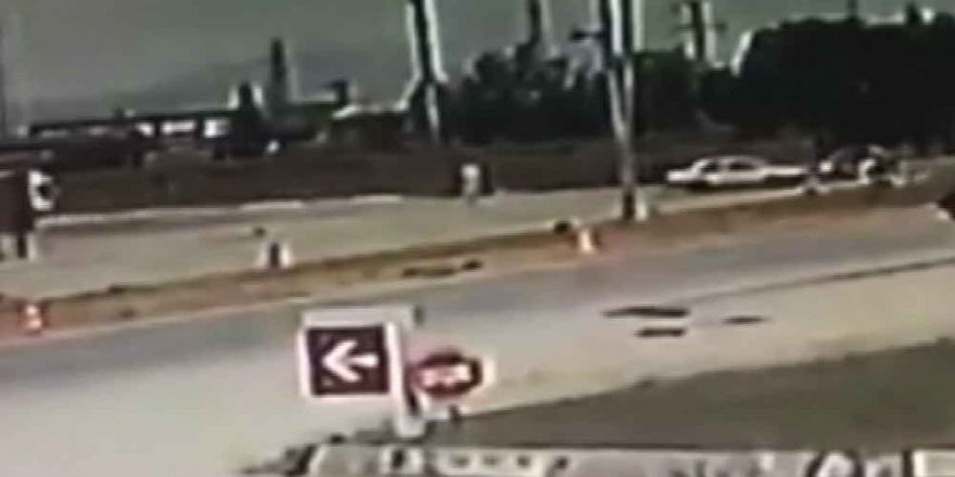 Milletvekili Şahin Tin'in Kaza Anı Güvenlik Kamerasında