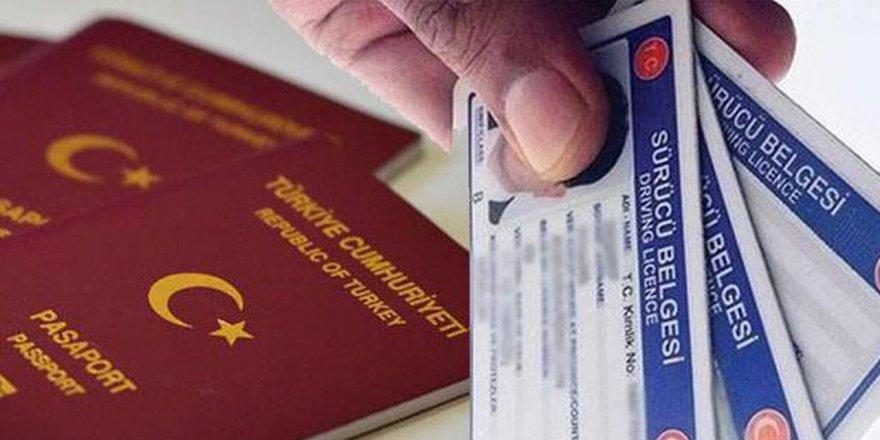 Pasaport ve ehliyet alacaklar dikkat!