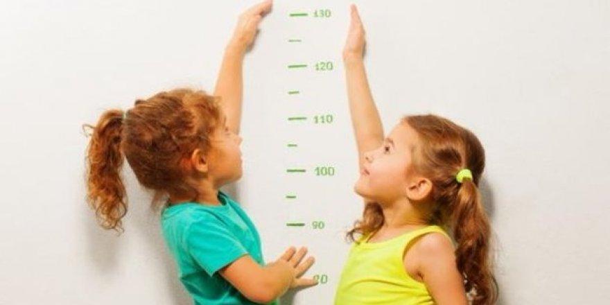 Çocuğunuz yılda en az 4,5 cm uzamıyorsa dikkat