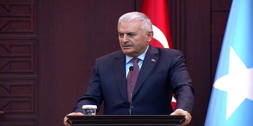 Yıldırım'dan Aliyev Ve Kvirikaşvili'ye Teşekkür