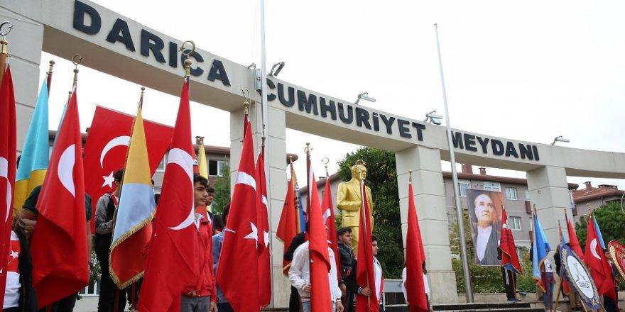 Darıca'da Cumhuriyet coşkusu