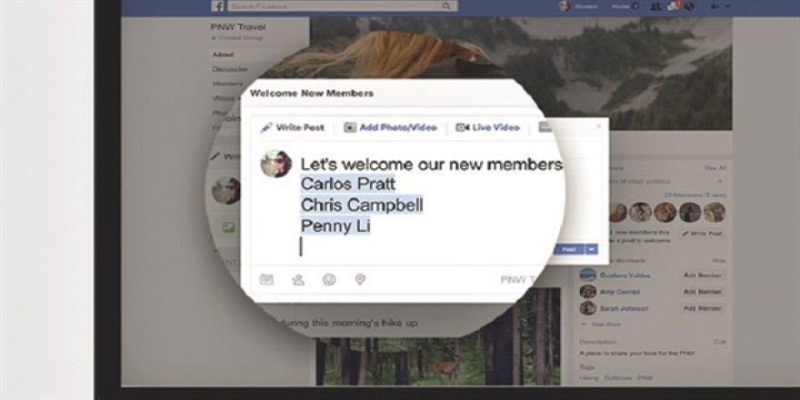 Facebook Gruplar şimdi daha güçlü