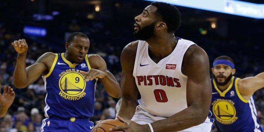 Golde State Warriors'a Pistons engeli